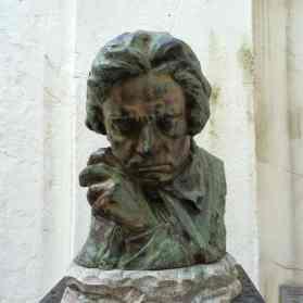 Skulptur Beethoven in Bonn