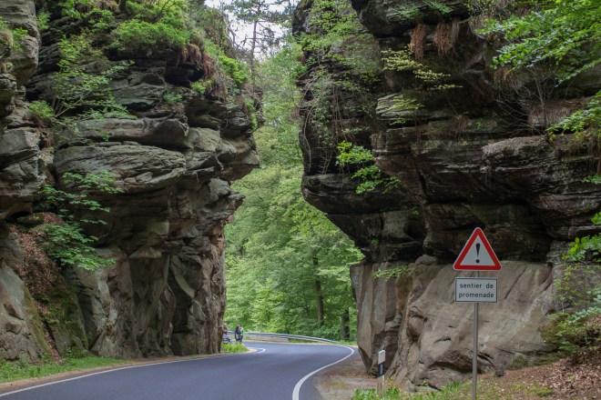 Luxemburg, Luxembourg, Roadtrip, Cabriotour, Müllerthal, Felsen