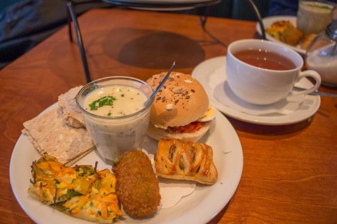High Tea, Delft, Lunchroom Leonidas