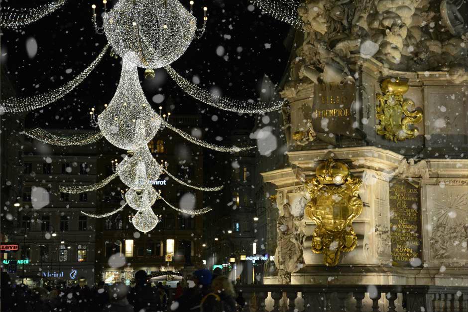 Christmas Lights Vienna In A Nutshell