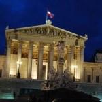 Parliament in Vienna