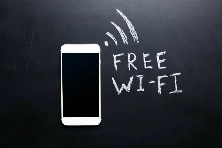 Wifi hotspots in Wenen
