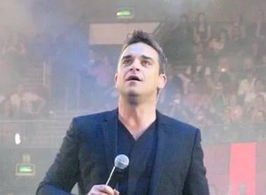 Robbie Williams concert Vienna 2017