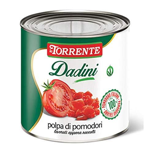 conserva di pomodoro a cubetti in latta da 3 kg 3 kg l101 1
