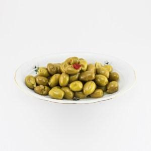 olive schiacciate in olio in vetro da 3100 ml m102 1.1