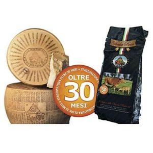 parmigiano reggiano prodotto e certificato da agricoltura biologica forma intera di collina stagio a054 1.1