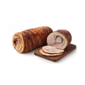 tronchetto in porchetta cotto a legna da 10 kg t120 1
