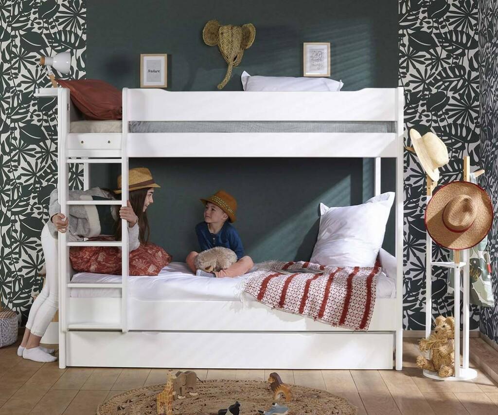 lit mezzanine pour une chambre d enfant