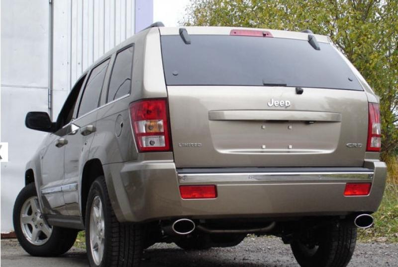 sport exhaust jeep grand cherokee wh 3 0crd 2005 right left 140x90