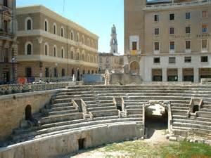 Lecce Italy Amphitheatre