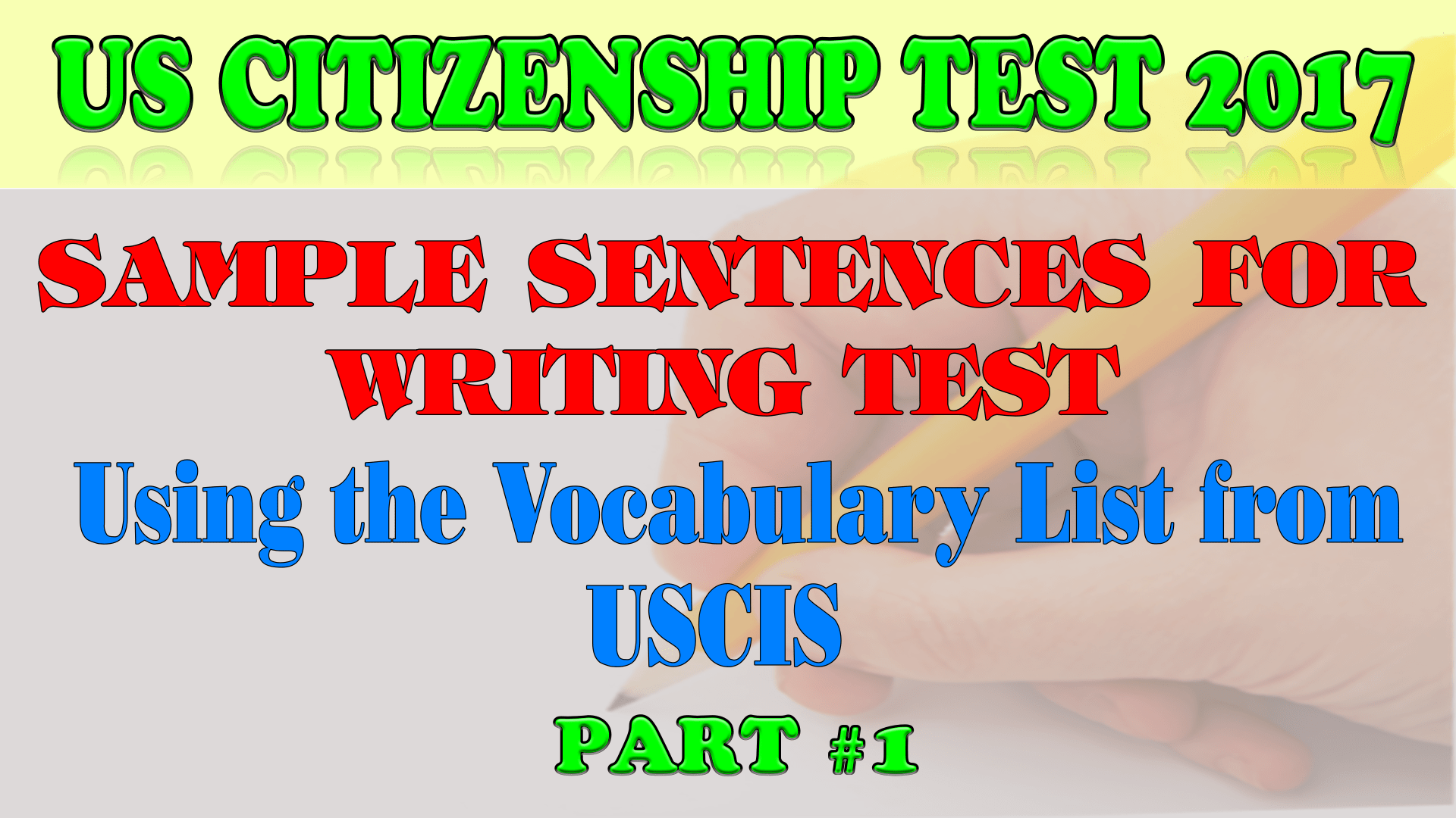 Becoming a u. S. Citizen guide to the law, exam & interview.
