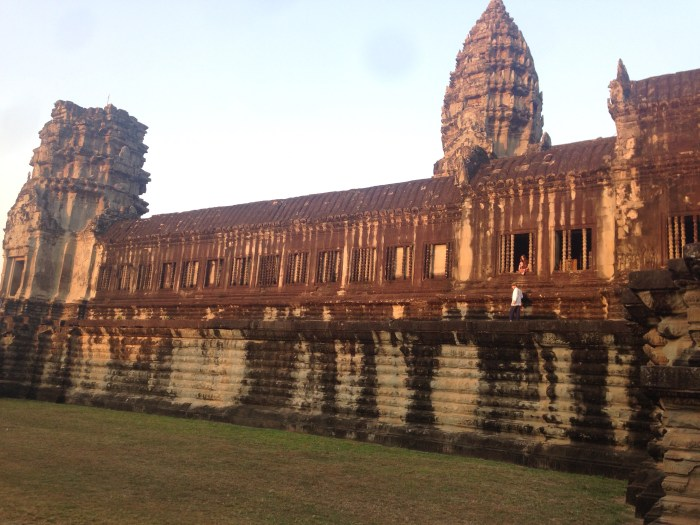 Angkor Wat – here we are in…