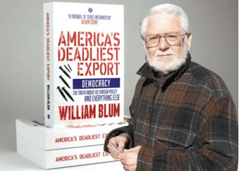 William Blum, Renowned U.S. Foreign Policy Critic, Dead at 85