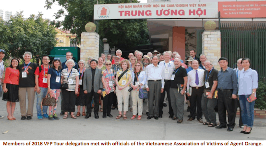 VFP CHAPTER 160 – Hoà Bình Peace Tour of Viet Nam 2019 MARCH 9 - 25, 2019