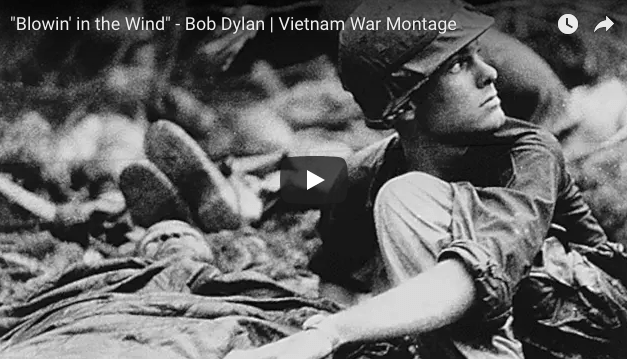 Blowin' in the Wind – Bob Dylan | Vietnam War Montage