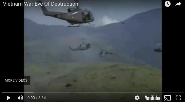 Eve Of Destruction – Barry McGuire   Vietnam Footage