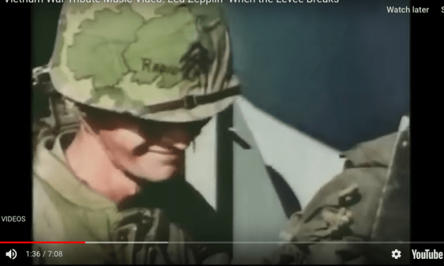 Led Zepplin- When the Levee Breaks: Vietnam War Tribute Music Video