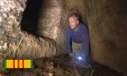 Exploring Viet Cong Tunnels and Traps