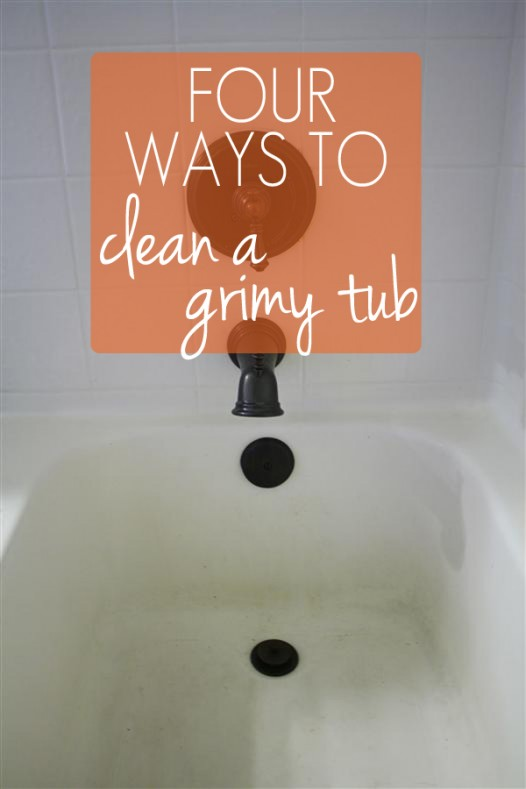 How To Remove Tub Stains Naturally With Non Toxic Homemade