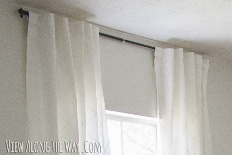 how to update out dated tab top curtains