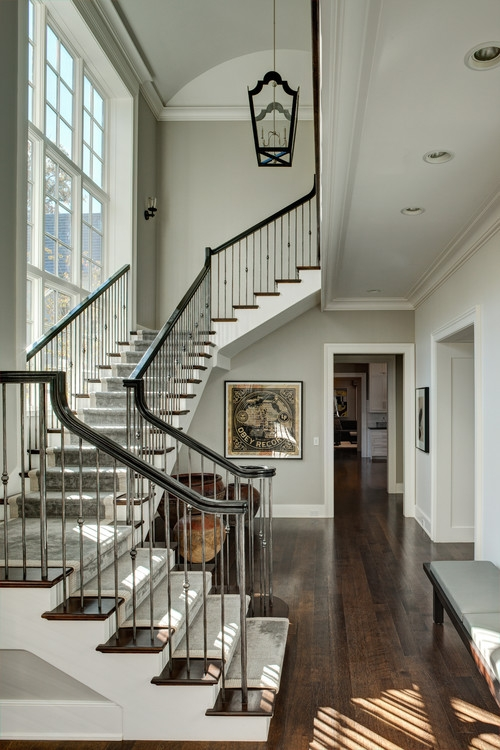 How To Install Iron Balusters View Along The Way   Wrought Iron Balusters Home Depot   Silver Vein   Oil Rubbed Bronze   Solid Wrought   Baluster Railing   Tuscan Round