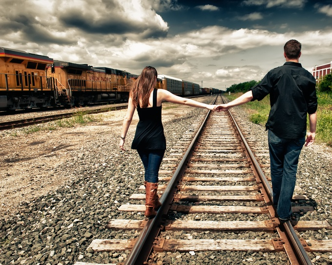 On the Tracks by mattsouthard1 - Love Photo Contest 2019