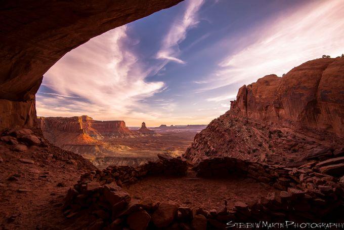 False Kiva, Island in the Sky District, Canyonlands National Park door StevenWMartinPhotography - Unieke locaties Fotowedstrijd