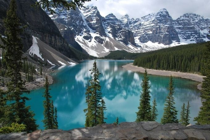 Lake Moraine, Banff, Alberta    by Tmilby - Canada Photo Contest