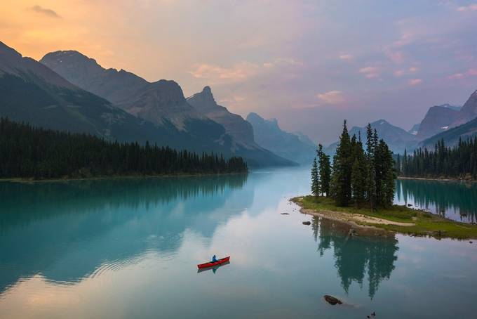 Sunrise Paddle by mpelli - Canada Photo Contest