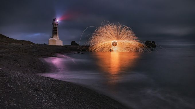 Coastal lights  by Atheights - Orange Tones Photo Contest