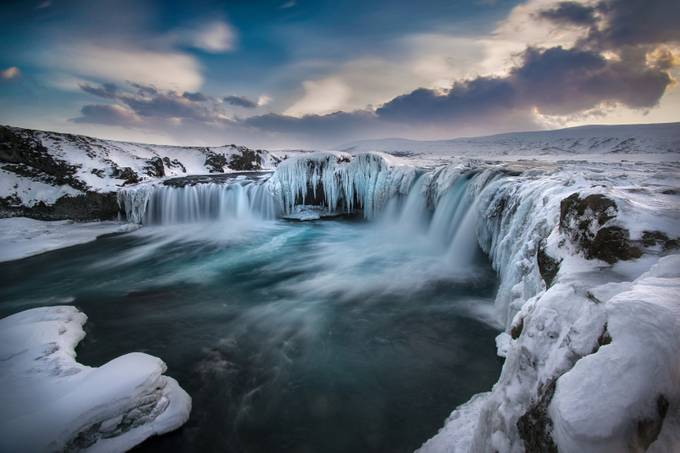 Godafoss Experiment by Iceland - Celebrating Nature Photo Contest Vol 5