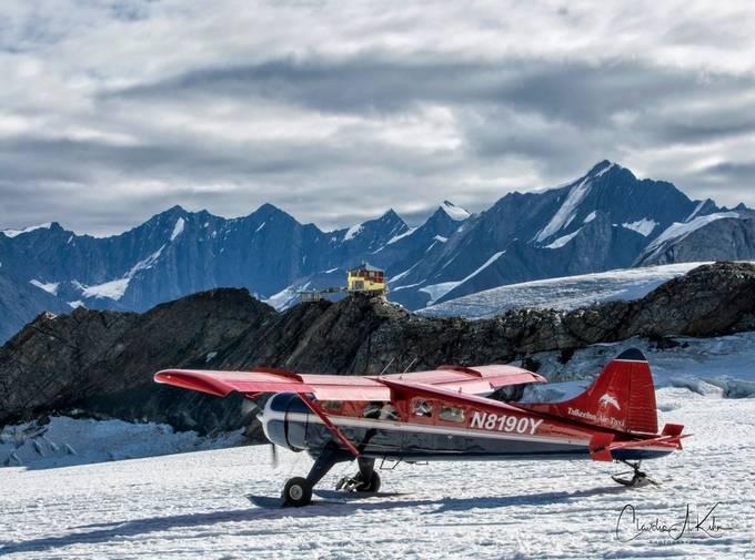 Glacial Landing door ClaudiaKuhn - Unieke locaties fotowedstrijd