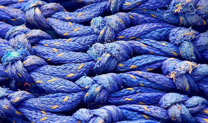 Any old Rope by yvonnechristinebannister - The Blue Color Photo Contest 2018