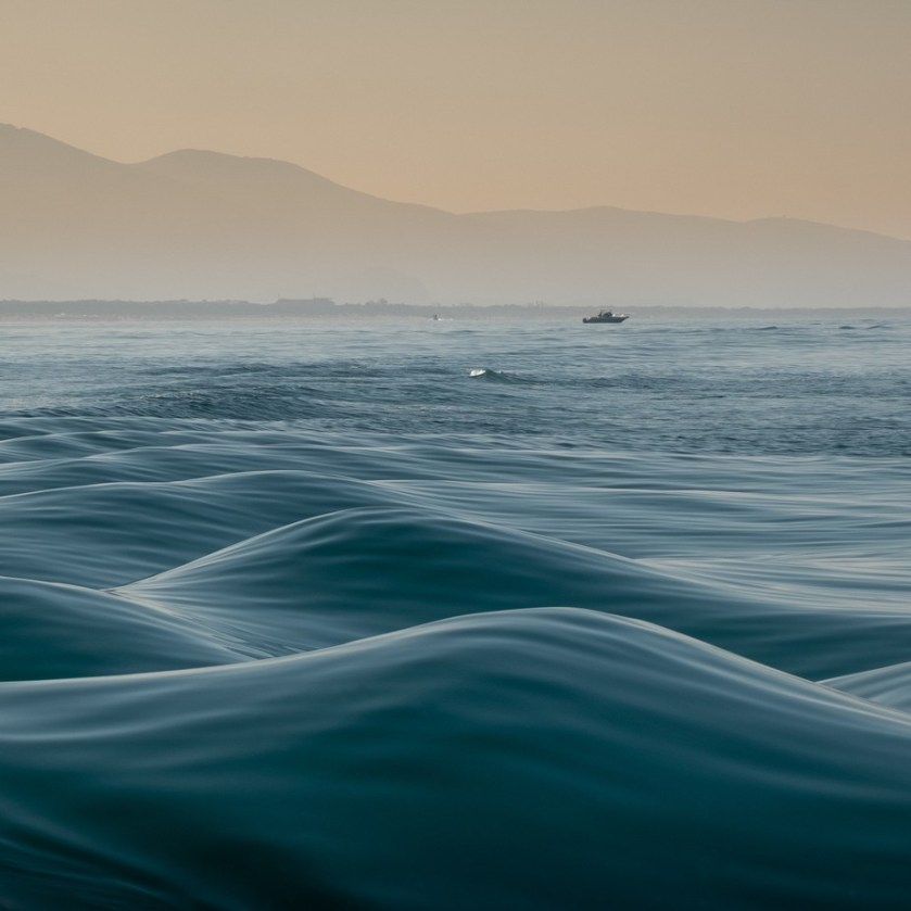 Smooth Tuscan waves by vincentcroce - The Blue Color Photo Contest 2018