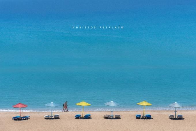 Summer walk by ChristosPetalas - The Blue Color Photo Contest 2018