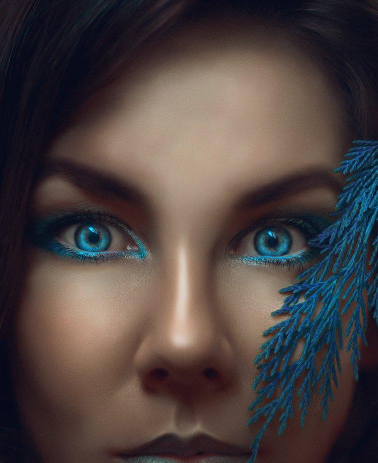 deep blue by IrinaJalbaFurtuna - The Blue Color Photo Contest 2018