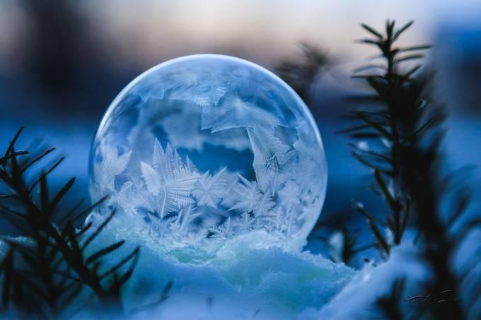 Blue Orb by alderimages - The Blue Color Photo Contest 2018