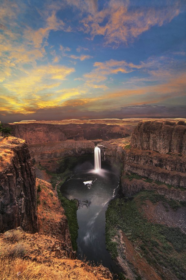 Palouse Falls Dawn by billsisson - Monthly Pro Photo Contest Vol 45