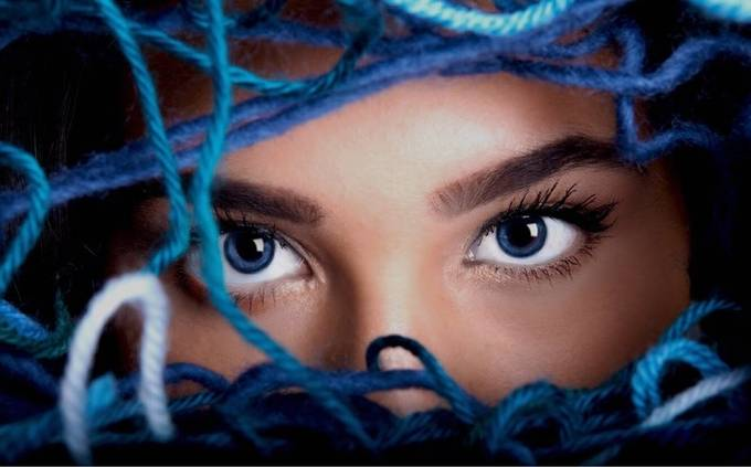 by RShannon - The Blue Color Photo Contest 2018