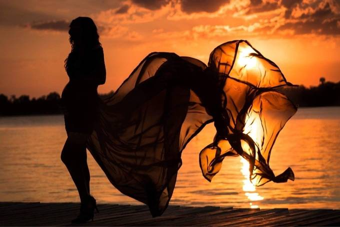 Maternity and Sunset by donnakinlaw - Monthly Pro Photo Contest Vol 45