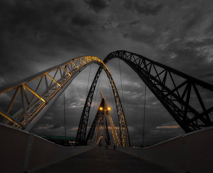#0062 Matagarup Bridge crop ll by Rmonty119 - Image Of The Month Photo Contest Vol 37