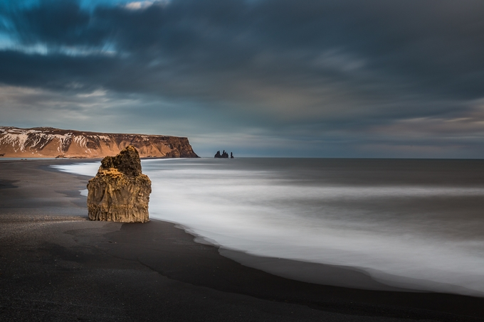 Black Sand Beach by patrickyates - Image Of The Month Photo Contest Vol 37