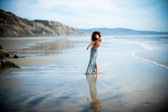 A mermaid at the beach by francineoduffy - Image Of The Month Photo Contest Vol 37