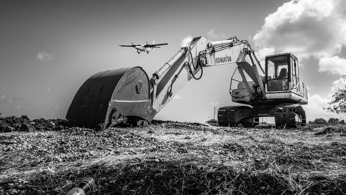 Working On A Rough Landing by nathanielgunby - Image Of The Month Photo Contest Vol 37