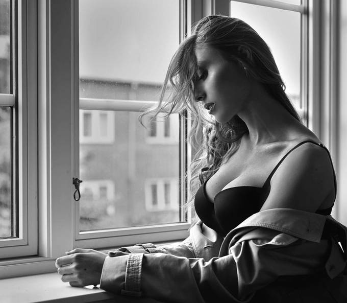 Thoughts in the window  by Fotografstefanborup - Image Of The Month Photo Contest Vol 37