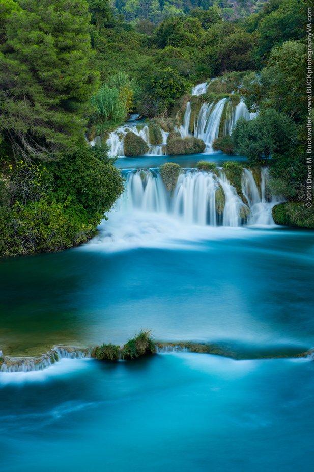 Skradinski Buk, Nacionalni Park Krka by DavidMBuckwalter - The Blue Color Photo Contest 2018