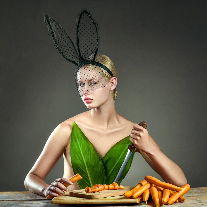 The Bunny That Wouldn't by ElenaParaskeva - Monthly Pro Photo Contest Vol 45