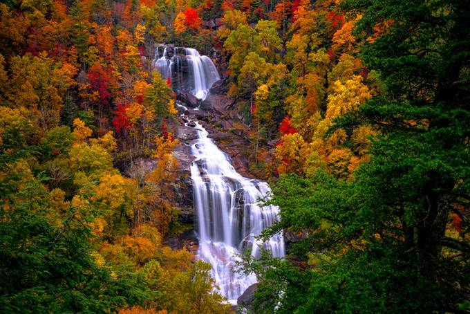 Waterfalls in Autumn by AutumnOaks - Covers Photo Contest Vol 51