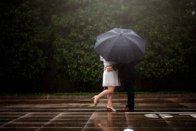 In the Rain by ChrystalOlivero - Monthly Pro Photo Contest Vol 45
