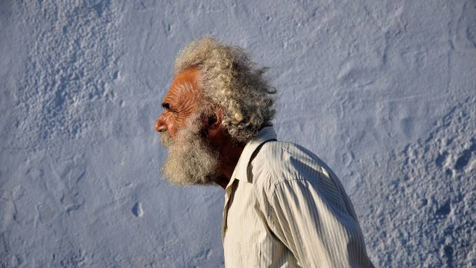 Greek old man by mill1810 - Covers Photo Contest Vol 51